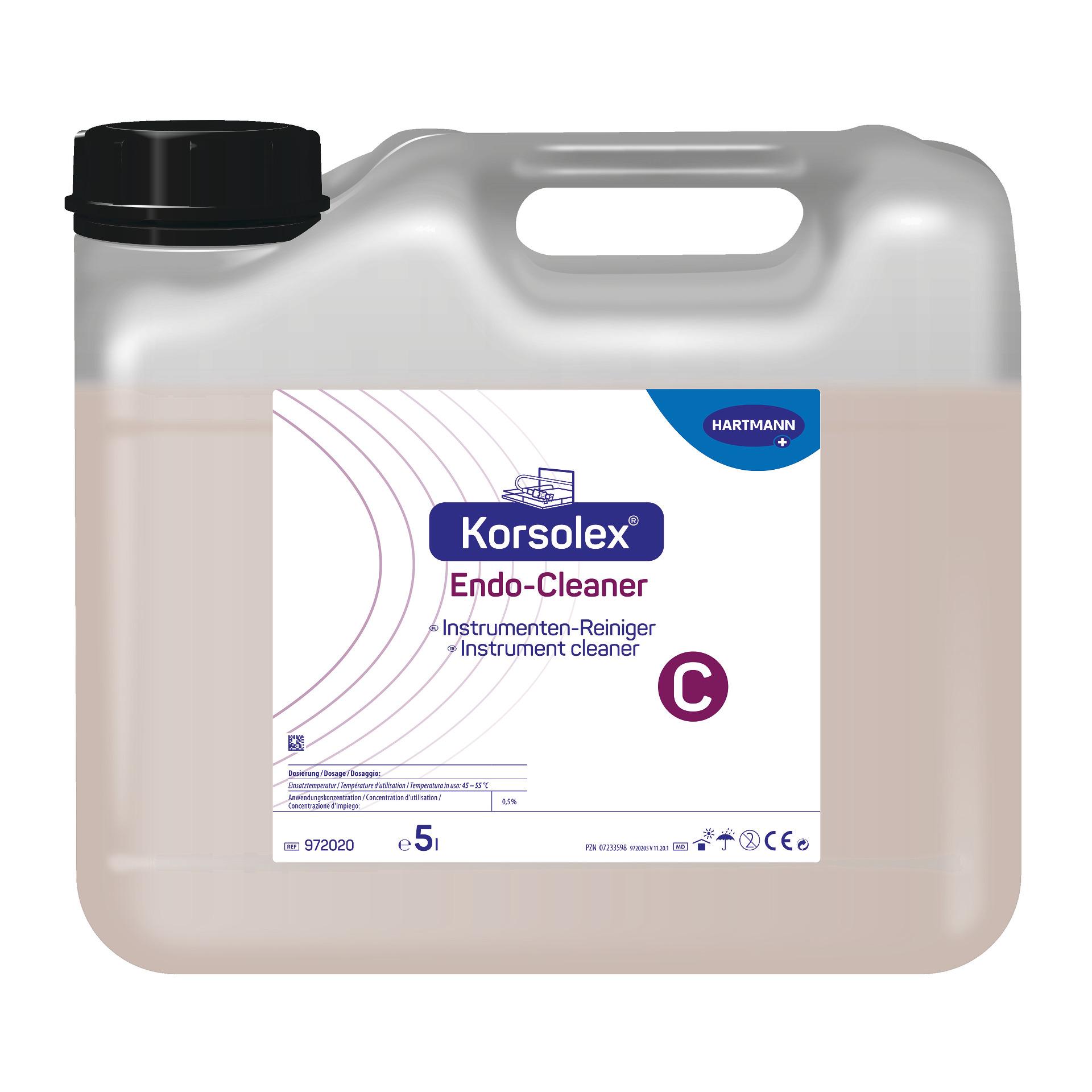 Korsolex Endo Cleaner | Reiniger | 25 Liter