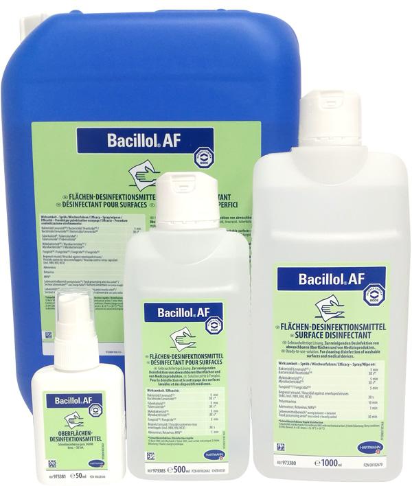 Bacillol AF | Flächendesinfektionsmittel | 50 ml