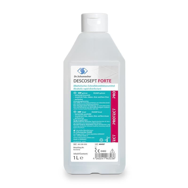 Descosept Forte | Schnelldesinfektionsmittel | 1 l