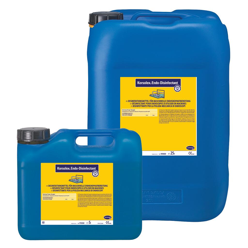 Korsolex Endo-Disinfectant | Desinfektionsmittel | 5 Liter