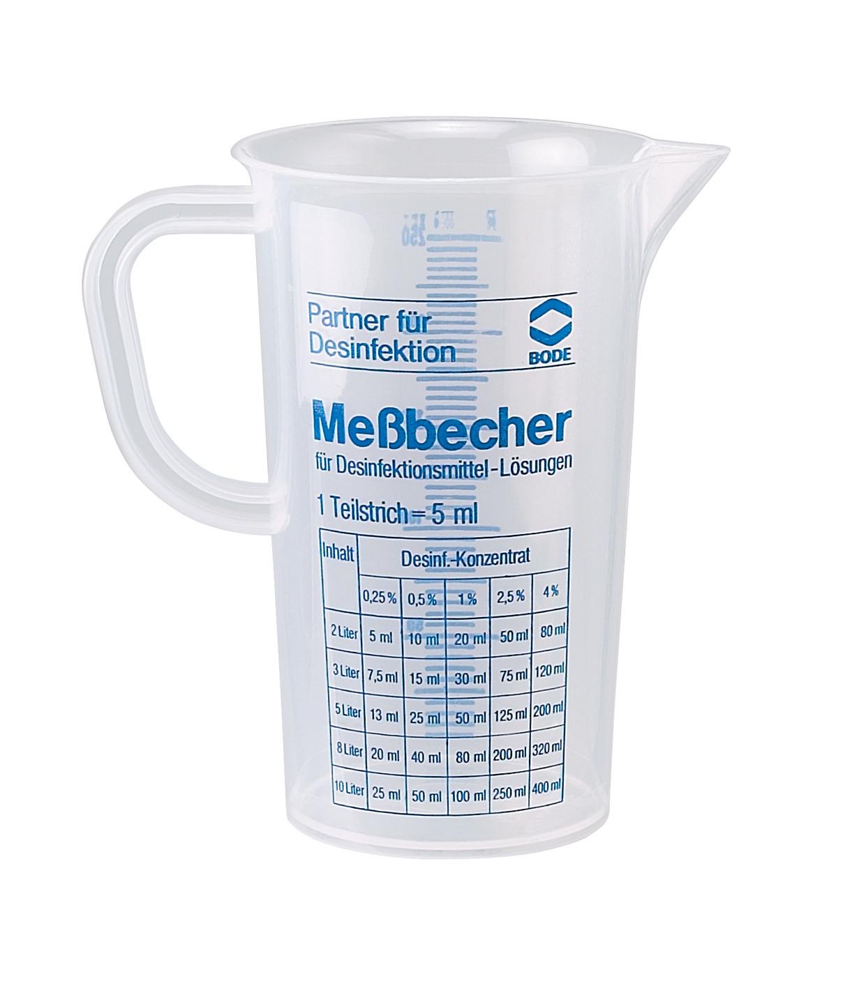 BODE Messbecher 250 ml