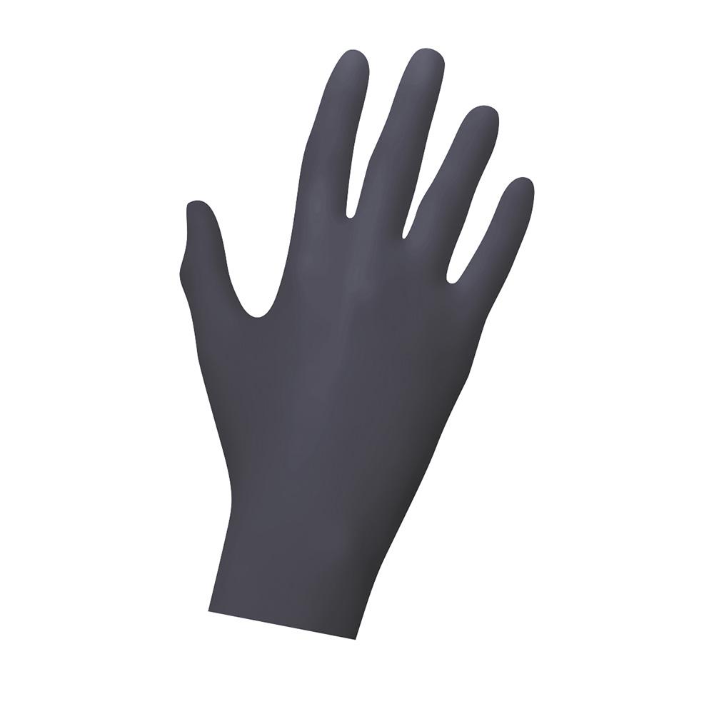 Unigloves Black Pearl | Nitrilhandschuhe | 100 Stück | Größe XS