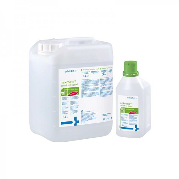 mikrozid sensitive liquid | Alkoholfreie Schnelldesinfektion | 1 l | Flächendesinfektion