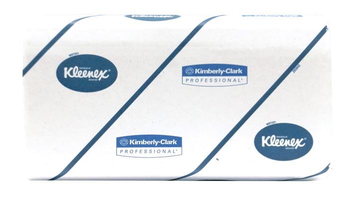 KLEENEX Ultra 6789   Handtücher 21,5 x 21 cm   2-lagig   2790 Tücher   weiß