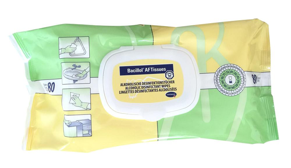 Bacillol AF | Tissues | 80 Stück | 18 x 20 cm
