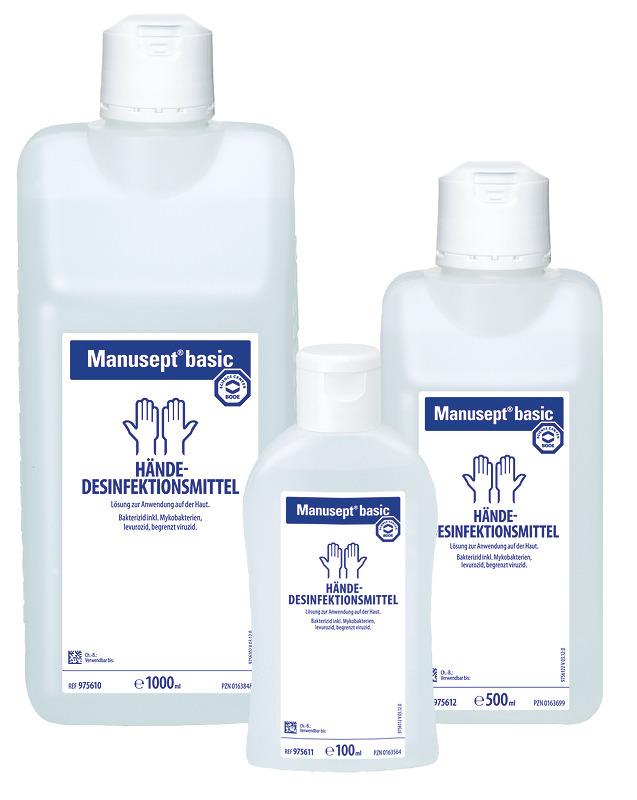 Hartmann Manusept basic | Händedesinfektionsmittel | 100 ml