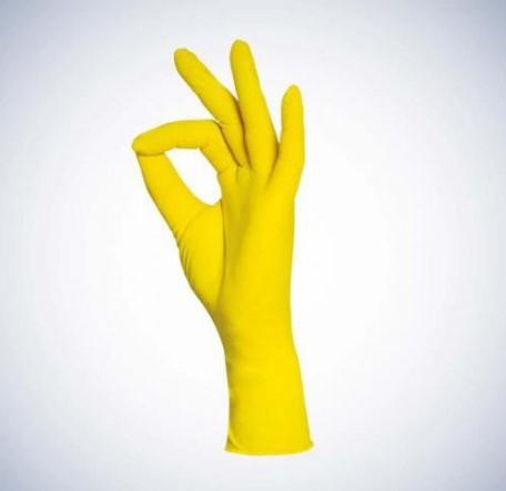 Med-Comfort Style Lemon | Nitril Handschuhe | 100 Stück | Gelb | Größe XS