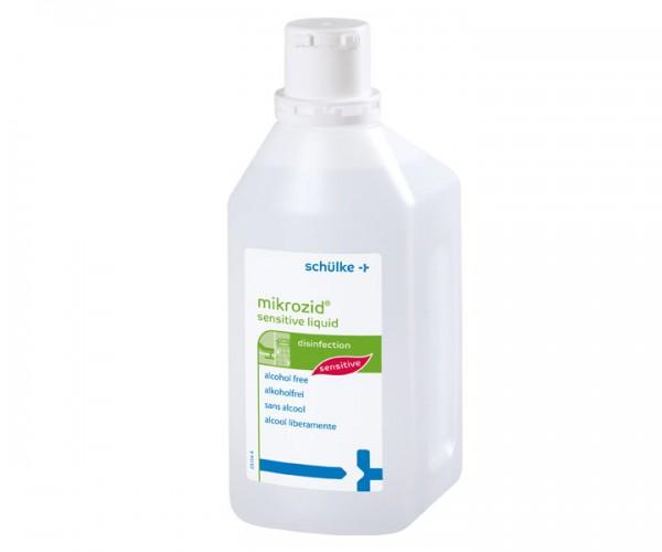 mikrozid sensitive liquid   Alkoholfreie Schnelldesinfektion   1 l   Flächendesinfektion