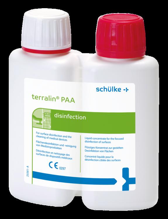 Schülke | terralin PAA | 2 x 80ml | Flächendesinfektion