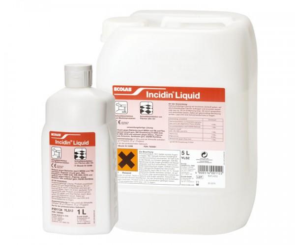 Incidin Liquid | Schnelldesinfektion für Flächen | 1 l